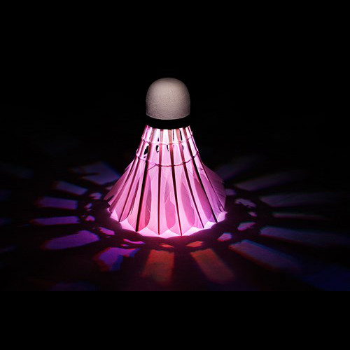 LED Badminton shuttlecock